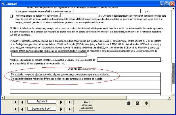 Contratos de trabajo for Modelo contrato laboral