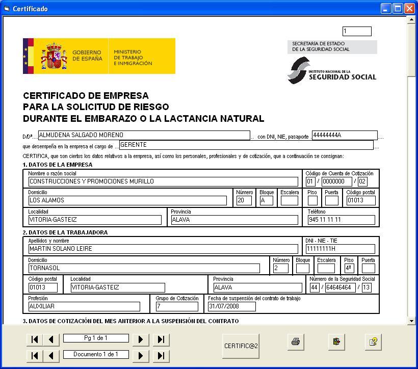 formato de solicitud certificado:
