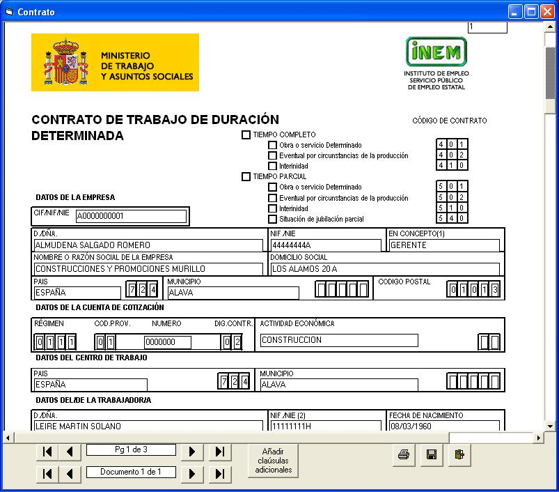 Contratos de trabajo for Contrato trabajo